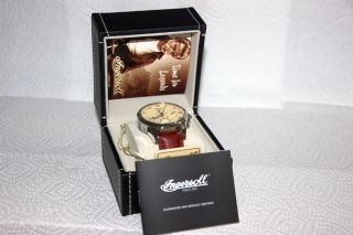 Ingersoll Automatik Herrenuhr Scott In 8402 Cr – Limited Edition – Wie Bild