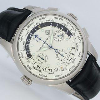 Girard Perregaux Ww.  Tc Chronograph Automatik Weissgold Uhr Box Papiere Bild