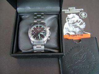 Fortis Official Cosmonauts Chronograph Diver Bild
