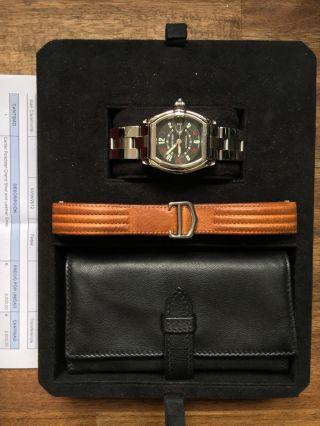 Cartier Roadster Automatik Armband Uhr Bild