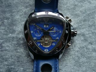British Racing Club Automatic - Herren - Uhr Neuwertig Aus Sammlung Bild