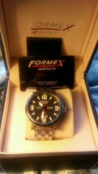Formex 4speed 72512.  7070 Armbanduhr Für Herren Mit Massivem Edelstahlarmband Bild