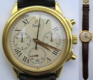 Piaget Swiss Herrenarmbanduhr,  Armbanduhr,  Automatik,  Chronograph Bild