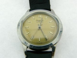 Armbanduhr Dugena Automatik Felsa 690 Swiss Made Bild
