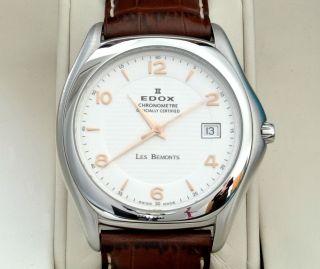 Chronometer Edox Les Bémonts – Automatik – Elegante Herrenuhr Bild