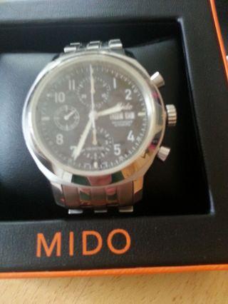 Mido Chrono Automatik Val 7750 Neuzustand Bild