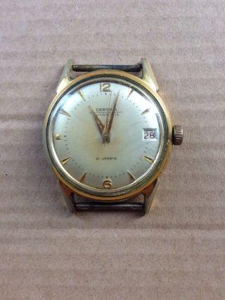 Certina Automatik Herrenuhr 21 Jewels Vintage Cal.  28 - 451 Bild