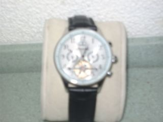 Ingersoll Herrenuhr Kaliber 735 Automatik Analog Datumsanzeige Lederband Bild