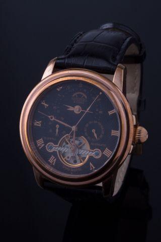 Hamberg Und Söhne Automatik Uhr/chronograph/herrenuhr/armbanduhr Bild