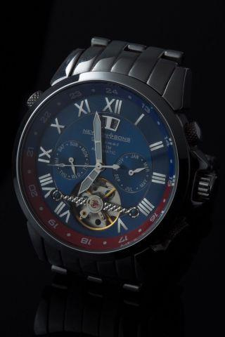 Newton & Sons Automatik Uhr/chronograph/herrenuhr/armbanduhr Bild