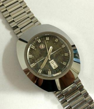 Rado Diastar Automatik Herren Armbanduhr,  Eta Werk Cal.  2789,  Edelstahl. Bild