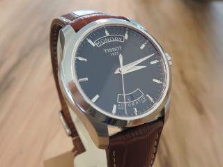 Tissot Couturier Automatik Day Date Schwarzes Zb Inkl.  2.  Armband Bild