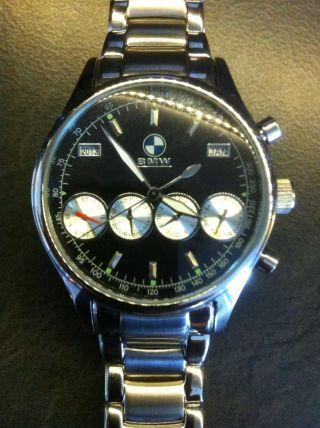 Bmw Uhr Chronograph Edelstahl Automatik Herren Uhr Bild