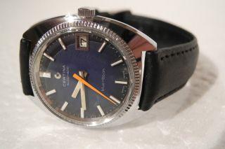 Certina Automatic / Automatik - Vintage Blue Ribbon 17 Jewels - Bild