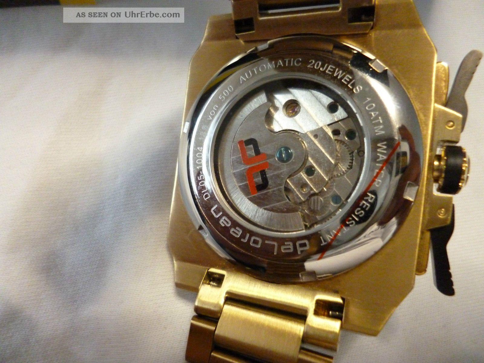 Delorean Uhren