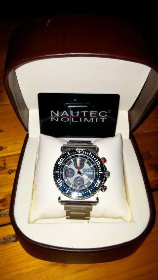 Nautec No Limit Ultimate Ocean H2 - Eta Valjoux 7750 Bild