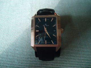 Jean Marcel Herren Armbanduhr,  Limited Edition,  Automatik,  Braun,  Neuwertig Bild
