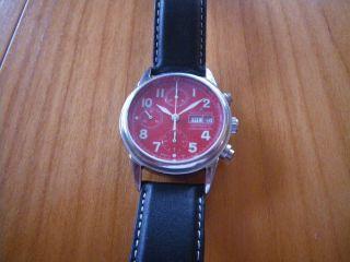 Jaques Le Mans Chronograph Mit Dem Valjoux 7750 Automatikuhrwerk Bild