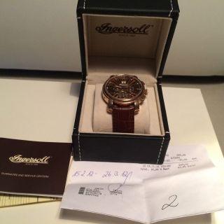 Ingersoll Herren Armbanduhr In Rosegold Bild