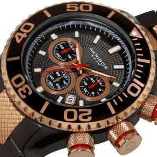 Akribos Xxiv Herren Stahl Armbanduhr Ak512tt Datumsanzeige Bild