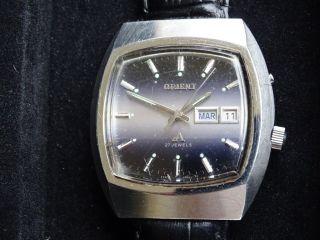 Orient Automatic Herrenuhr Eckig Automatik Day Date Bild