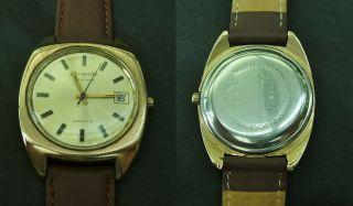 Herren - Armbanduhr Aus Glashütte,  Automatik Mit Datum,  Um 1970 Bild
