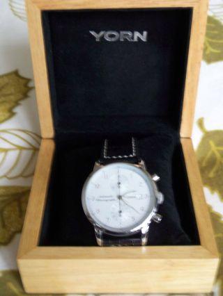 Yorn Uhr Automatik Chrongraph Lim.  Edition 060 / 120 Bild