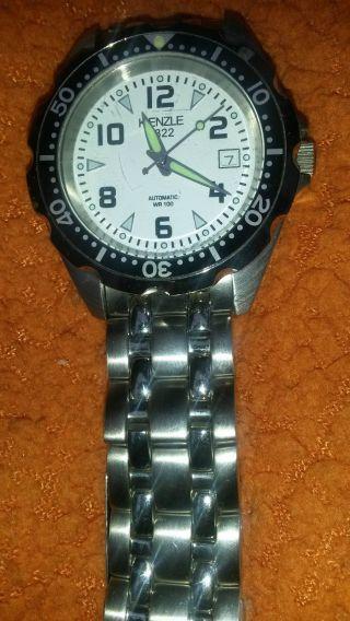 Automatikuhr Kienzle Armbanduhr Metallband Leuchtzeiger Tagesdatumsanzeige Bild