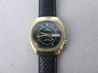 Royce Alarm Twin - Matic - Armbanduhr Mit Wecker - 25 Jewels Bild