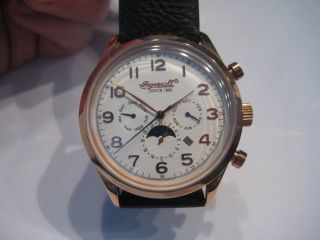 Ingersoll Union Ii In1205rcr Automatik Limited Edition Bild