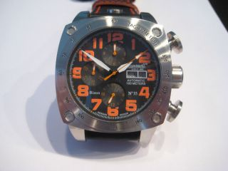 Ingersoll Bison No35 In2808bkor Automatik Limited Edition Bild