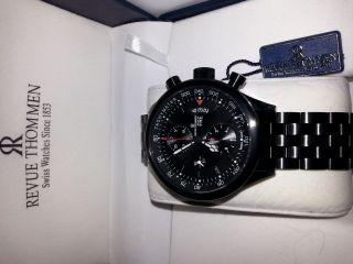 Revue Thommen - Pilot Xl Chronograph Valoux 7750 N E U Bild