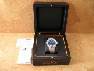 Mido Ocean Star Automatik Armbanduhr Mit Edelstahlarmband Bild