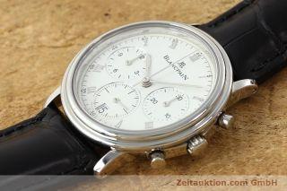 Blancpain Villeret Chronograph Automatik Stahl Herrenuhr Cal 1185 Vp: 11840,  - Bild