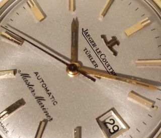 Jaeger Lecoultre Jlc Master Mariner Stahl/gold Selten Lp: 2900,  - Sk: 1499,  - Bild