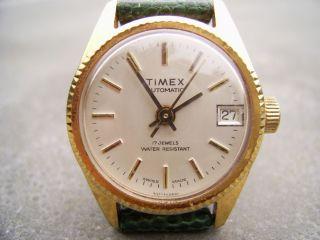 Timex Swiss Made Automatik Dau Bild