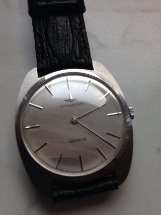Neuwertige Dugena Geneve Vintage Uhr,  Automatik Bild