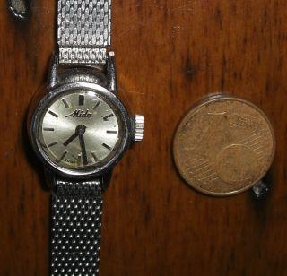 Mido 0620 (as 1775) - Kleinste Automatik Der Welt - Smallest Automatic Watch Bild