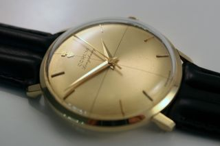 Corum Longchamp Automatic 18k Gold Uhr/watch Cal.  20779 Bild