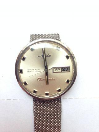 Mido Ocean Star Datoday Chronometer Herrenuhr In Edelstahl Automatic Bild