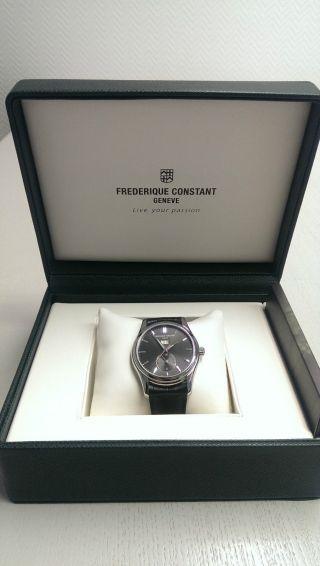 Frederique Constant Big Date Dual Time Automatik Uhr Herrenuhr Fc - 325 B6b6 Bild