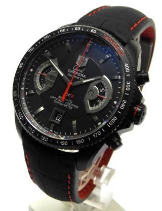 Tag Heuer Grand Carrera Rs 2 Titan Chronograph Cal 17 Cav518b Bild