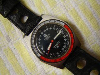 Tissot Swiss Navigator Automatik Pr - 516,  Funktionsbereit - Vintage - Armbanduhr Bild