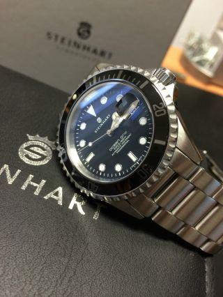 Steinhart Ocean 1 Black Ceramic Automatic Eta 2824 - 2 Swiss Made Bild