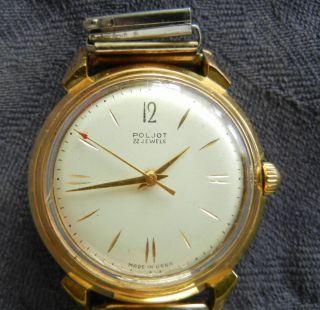 Poljot Herrenuhr Armbanduhr Automatik Uhr Bild