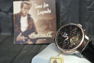Weihnachtspreis Ingersoll Gran Canyon Iv In6900rbk Herren Armbanduhr - Lederband Bild
