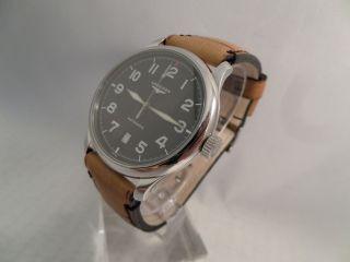 Longines Avigation L2.  628.  4 Automatik Kal.  L619.  2 Herrenuhr Armbanduhr Datum Bild