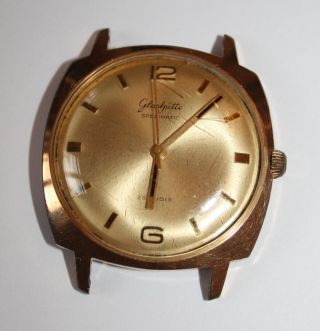 Gub GlashÜtte Spezimatic - 26 Rubis - Uhr Herrenuhr - Made In Ddr Bild