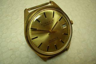 Kienzle Superia Automatic Alte Herren Armbanduhr 70 ' Er J.  Kal.  Puw 1461. Bild