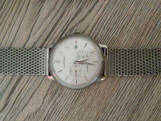 Jacques Lemans Chronograph N 210c Automatik Mit Milanaise Band Bild